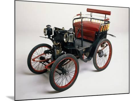 An 1899 Renault 1.75Hp--Mounted Photographic Print