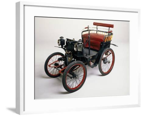 An 1899 Renault 1.75Hp--Framed Art Print