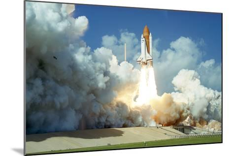 Launch of Space Shuttle Challenger from Kennedy Space Center, Florida, USA, 1985--Mounted Photographic Print