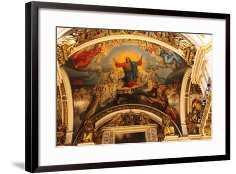 Ceiling, St Isaac's Cathedral, St Petersburg, Russia, 2011-Sheldon Marshall-Framed Art Print