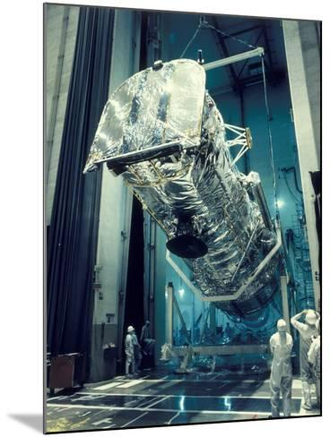 Testing the Hubble Space Telescope , 1980s--Mounted Photographic Print