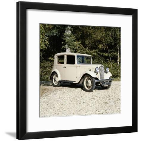 1935 Austin Lichfield 10Hp Car--Framed Art Print