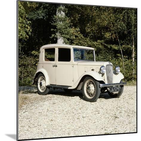 1935 Austin Lichfield 10Hp Car--Mounted Photographic Print