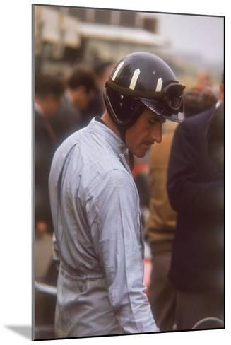 Graham Hill, Dutch Grand Prix, Zandvoort, 1964--Mounted Photographic Print