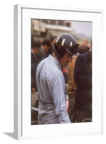 Graham Hill, Dutch Grand Prix, Zandvoort, 1964--Framed Art Print