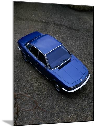 A 1974 NSU (Neckarsulm Strickmaschinen Union) RO 80 Viewed from Above--Mounted Photographic Print