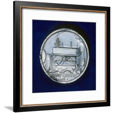 Reverse of Commemorative Medal for Joseph Priestley, English Chemist, 1803--Framed Art Print