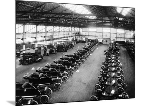 Interior of the Ford Works, Trafford Park, Manchester, C1911-C1927--Mounted Photographic Print
