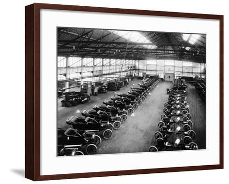 Interior of the Ford Works, Trafford Park, Manchester, C1911-C1927--Framed Art Print
