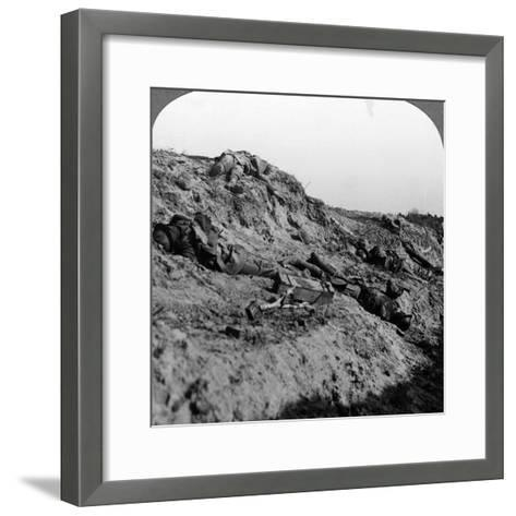 Dead Soldiers, Vimy Ridge, France, World War I, 1914-1918--Framed Art Print