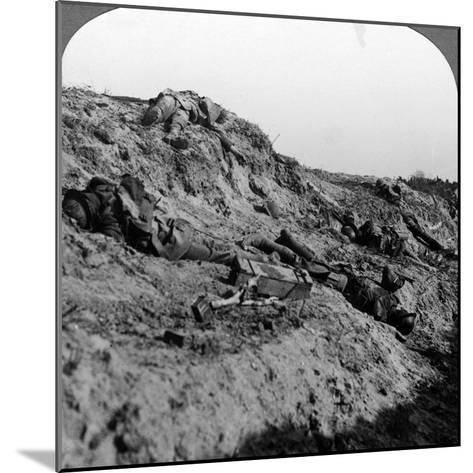 Dead Soldiers, Vimy Ridge, France, World War I, 1914-1918--Mounted Photographic Print