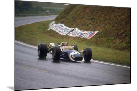 Jo Siffert's Lotus-Ford, French Grand Prix, Rouen, 1968--Mounted Photographic Print