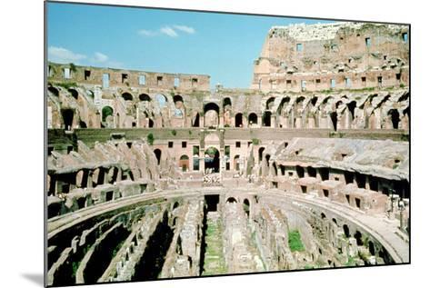 Inside the Colosseum, Rome, Italy--Mounted Photographic Print
