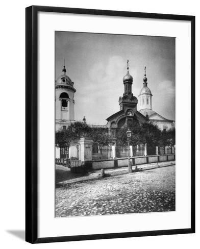 Church of St Nicholas the Miracle Maker, Near Sretensky Boulevard, Moscow, Russia, 1881- Scherer Nabholz & Co-Framed Art Print