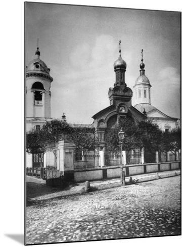 Church of St Nicholas the Miracle Maker, Near Sretensky Boulevard, Moscow, Russia, 1881- Scherer Nabholz & Co-Mounted Photographic Print