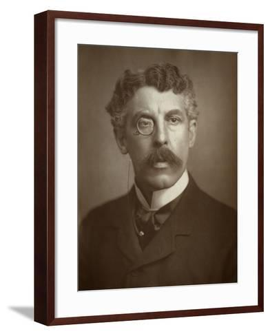 Squire Bancroft, British, Actor-Manager, 1883--Framed Art Print