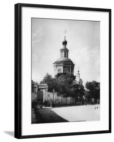 Church of the Life-Giving Trinity, Khokhlovka, Moscow, Russia, 1881- Scherer Nabholz & Co-Framed Art Print