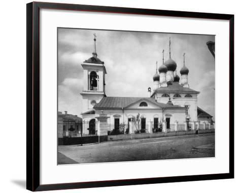Church of St Nicholas the Miracle Maker, Near the Smolensk Market, Moscow, Russia, 1882- Scherer Nabholz & Co-Framed Art Print
