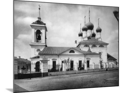 Church of St Nicholas the Miracle Maker, Near the Smolensk Market, Moscow, Russia, 1882- Scherer Nabholz & Co-Mounted Photographic Print