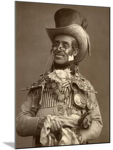 Arthur Roberts, British Actor, Comedian and Music Hall Entertainer, 1888-Ernest Barraud-Mounted Photographic Print