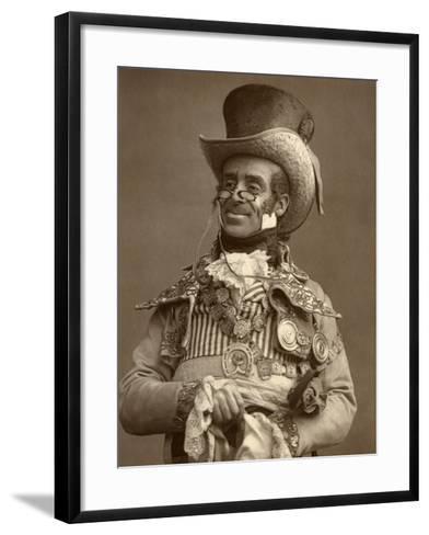 Arthur Roberts, British Actor, Comedian and Music Hall Entertainer, 1888-Ernest Barraud-Framed Art Print