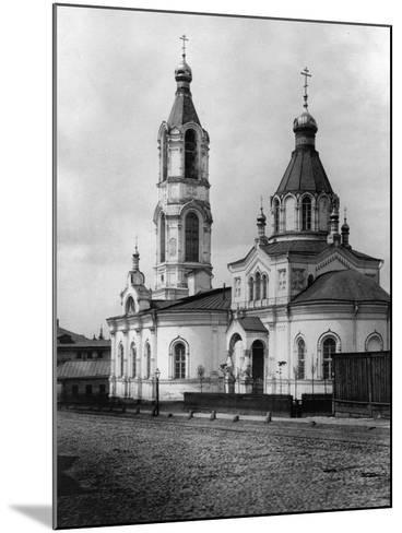 Church of St Nicholas the Miracle Maker, Yamy, Moscow, Russia, 1881- Scherer Nabholz & Co-Mounted Photographic Print