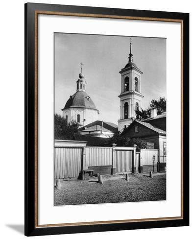 Church of St John the Forerunner, Krechetniki, Moscow, Russia, 1881- Scherer Nabholz & Co-Framed Art Print