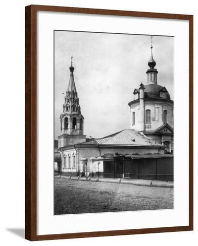 Church of the Resurrection of Christ, Taganka, Moscow, Russia, 1881- Scherer Nabholz & Co-Framed Art Print