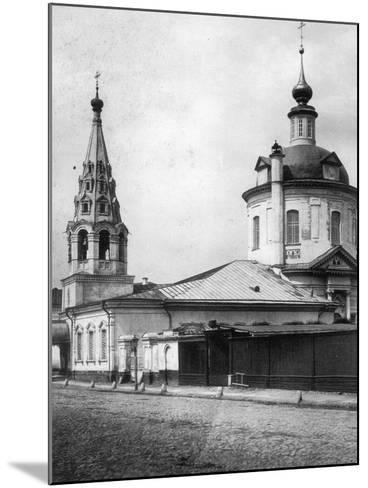 Church of the Resurrection of Christ, Taganka, Moscow, Russia, 1881- Scherer Nabholz & Co-Mounted Photographic Print
