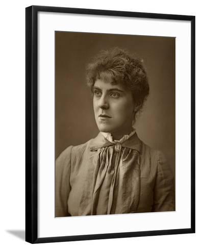Janet Achurch, British Actress and Actor-Manager, 1887-Ernest Barraud-Framed Art Print