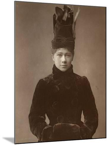 Marie Tempest, British Actress and Singer, 1888-Ernest Barraud-Mounted Photographic Print