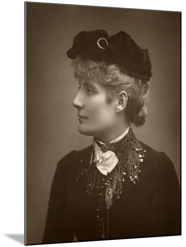 Harriett Jay, British Author and Playwright, 1888-Ernest Barraud-Mounted Photographic Print
