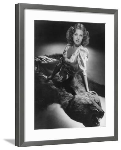 Lana Turner, American Actress and Film Star, 1939-Laszlo Willinger-Framed Art Print