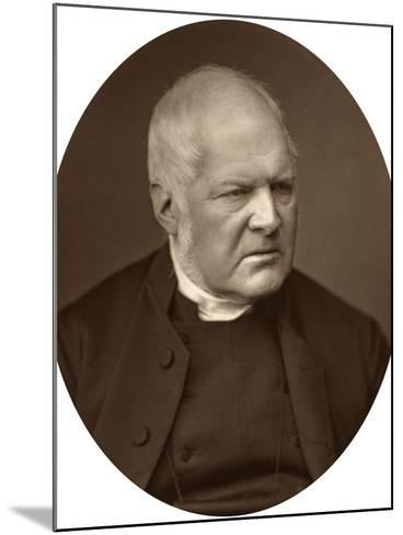 Reverend Edward Meyrick Goulburn, Dean of Norwich, 1880-Lock & Whitfield-Mounted Photographic Print