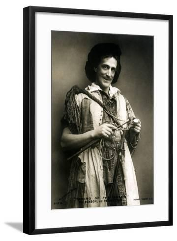 Frank Benson (1858-193), English Actor and Theatre Manager, Early 20th Century-J Caswall Smith-Framed Art Print