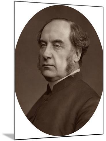 William Thomson, Archbishop of York, 1878-Lock & Whitfield-Mounted Photographic Print