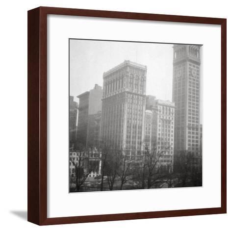 Madison Square, New York City, USA, 20th Century-J Dearden Holmes-Framed Art Print