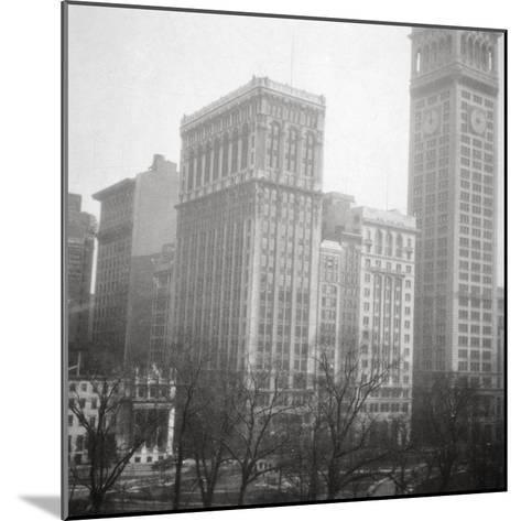 Madison Square, New York City, USA, 20th Century-J Dearden Holmes-Mounted Photographic Print