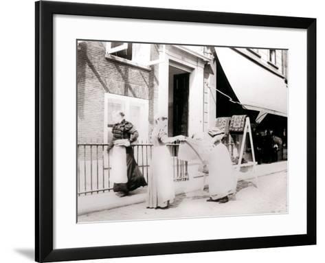 Women, Rotterdam, Netherlands, 1898-James Batkin-Framed Art Print