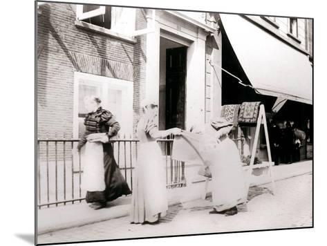 Women, Rotterdam, Netherlands, 1898-James Batkin-Mounted Photographic Print