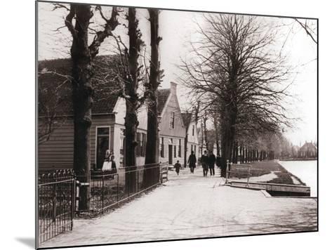 Canal Bank, Broek, Netherlands, 1898-James Batkin-Mounted Photographic Print