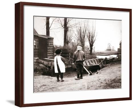 Children, Laandam, Netherlands, 1898-James Batkin-Framed Art Print