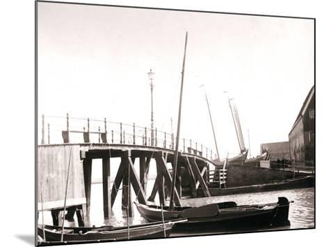 Canal Boats, Marken Island, Netherlands, 1898-James Batkin-Mounted Photographic Print