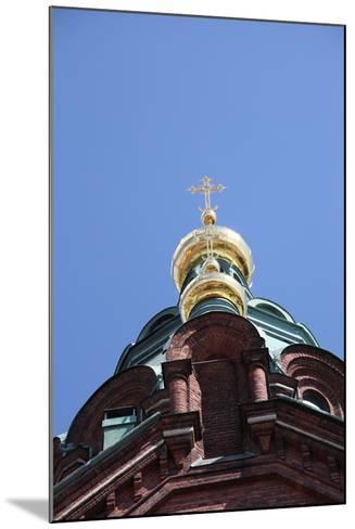Dome, Uspenski Cathedral, Helsinki, Finland, 2011-Sheldon Marshall-Mounted Photographic Print