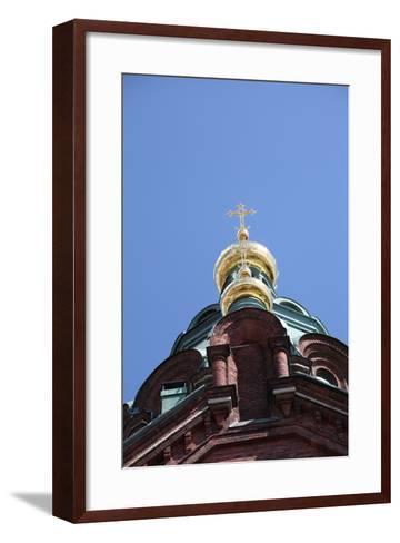 Dome, Uspenski Cathedral, Helsinki, Finland, 2011-Sheldon Marshall-Framed Art Print