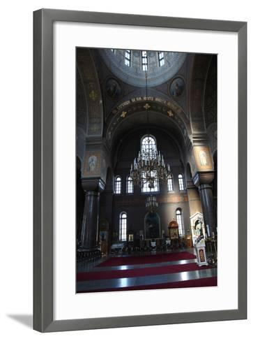 Interior, Uspenski Cathedral, Helsinki, Finland, 2011-Sheldon Marshall-Framed Art Print