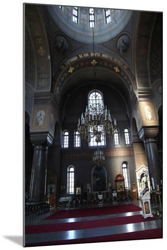 Interior, Uspenski Cathedral, Helsinki, Finland, 2011-Sheldon Marshall-Mounted Photographic Print