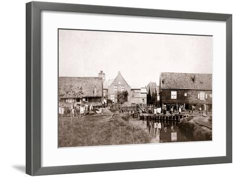 Marken Island, Netherlands, 1898-James Batkin-Framed Art Print