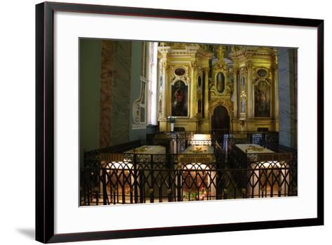 Interior, Peter and Paul Cathedral, St Petersburg, Russia, 2011-Sheldon Marshall-Framed Art Print