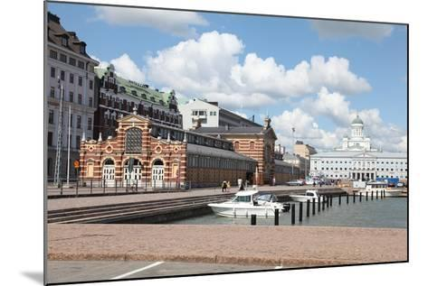 Market Square, Helsinki, Finland, 2011-Sheldon Marshall-Mounted Photographic Print